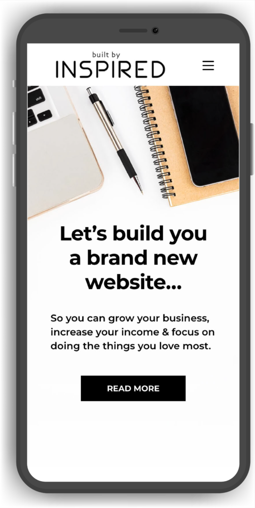 Built By Inspired Responsive Websites